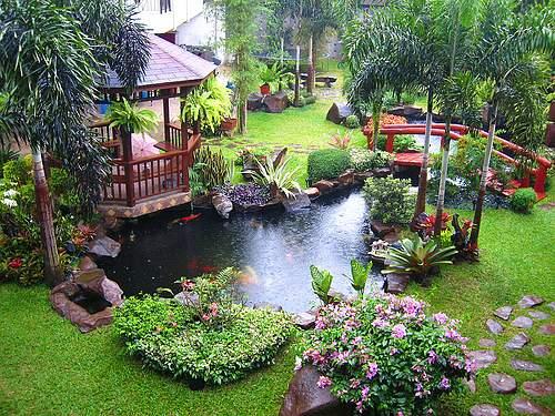 fotos jardines interiores pequeños