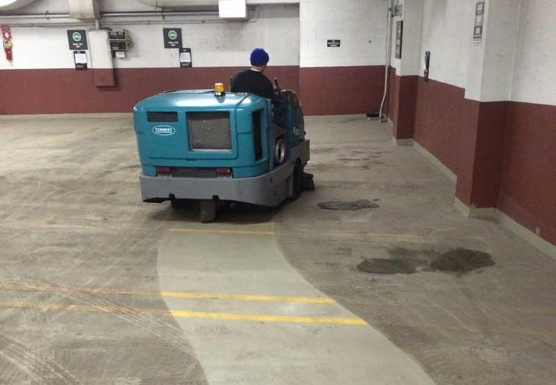limpieza de garajes comunitarios