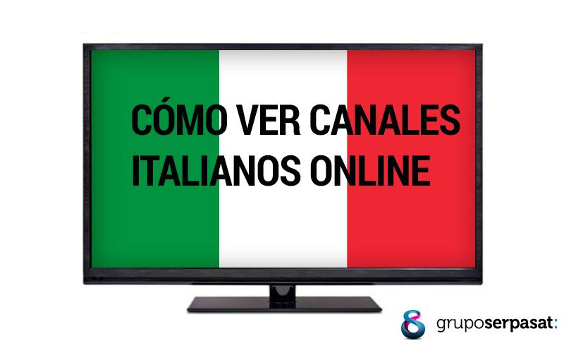Cómo ver canales italianos en España online y gratis