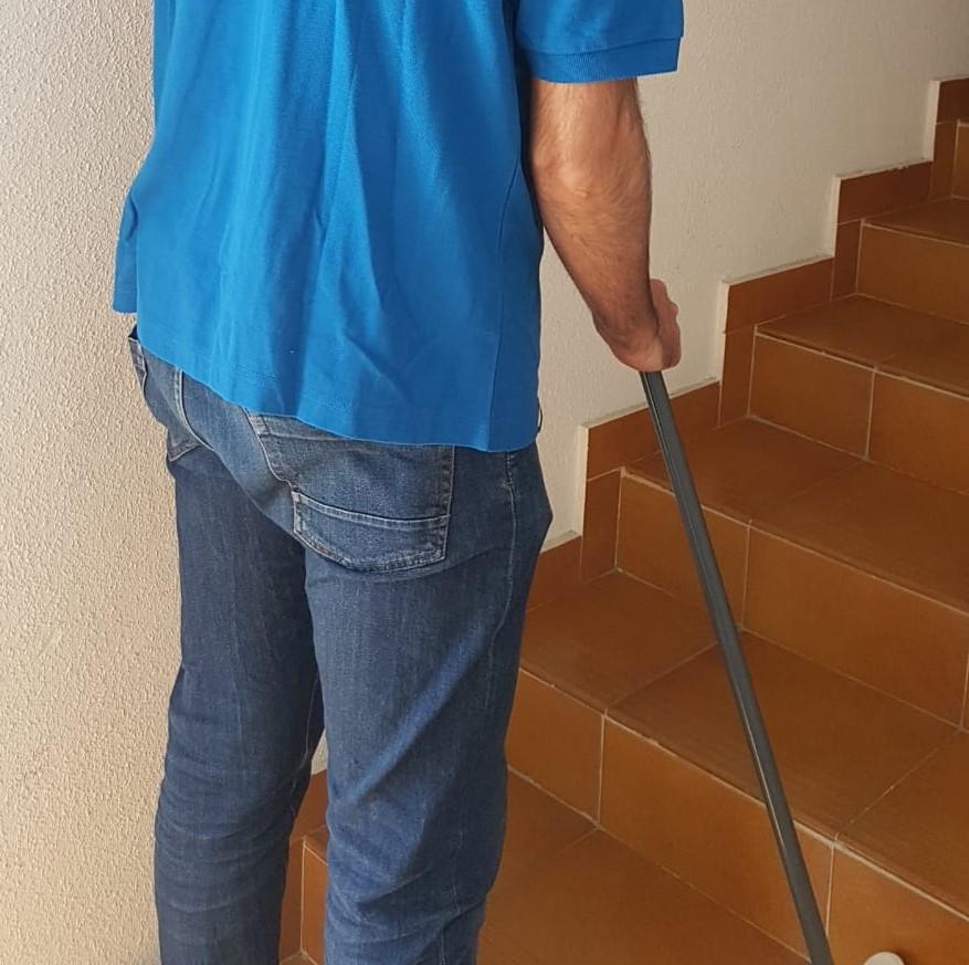 limpieza de escaleras y pasillos