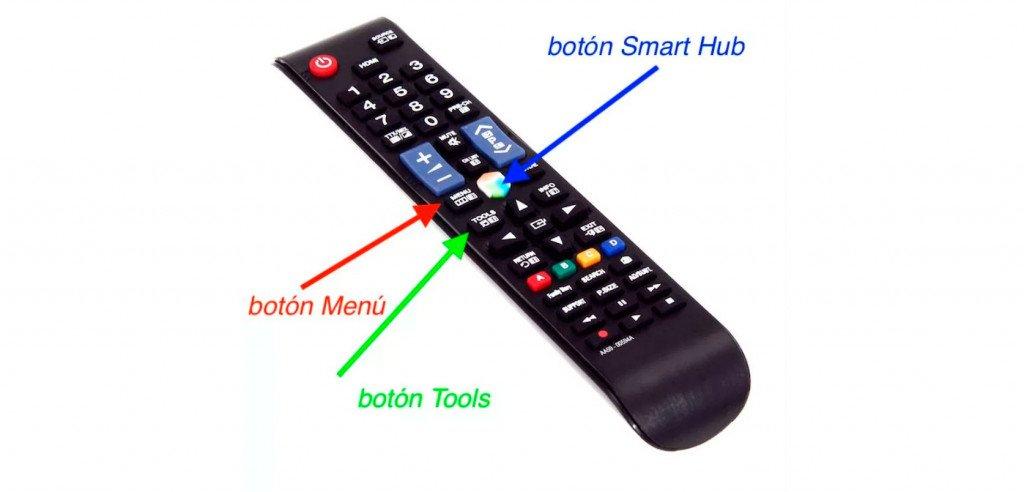 sintonizar canales manualmente Samsung