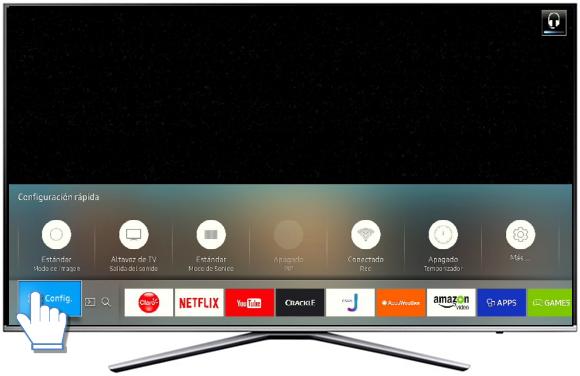 sintonizar canales en tv samsung manualmente
